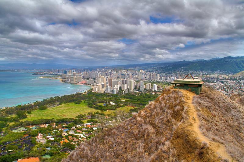 Diamond Head View - Honolulu, Hawaii