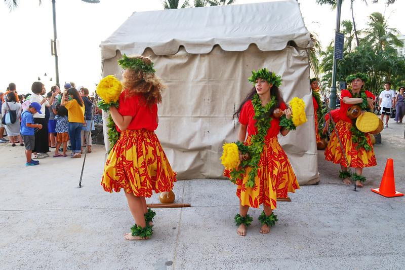 Behind the Scenes, Hula Show - Honolulu, Hawaii
