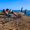Beach Chair, Waikiki Beach - Honolulu, Hawaii