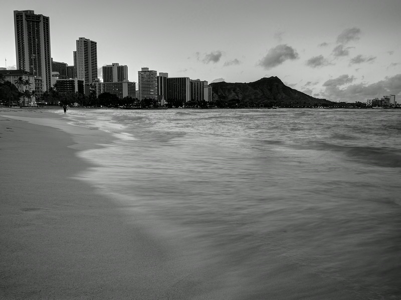Water in Motion, Waikiki Beach - Honolulu, Hawaii