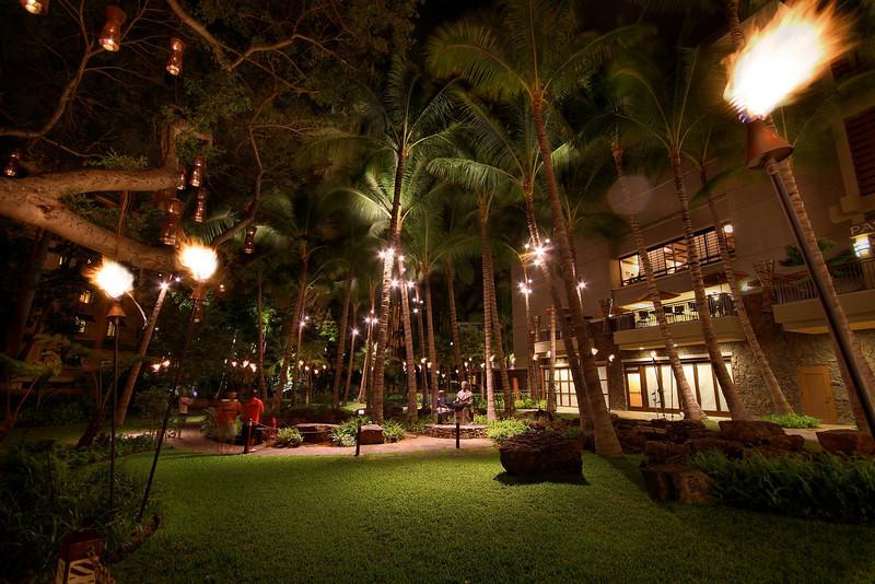 Royal Hawaiian Center Park - Honolulu, Hawaii