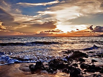 Wailea Sunset Again