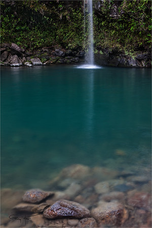 Hidden Pool, Hana Road, Maui