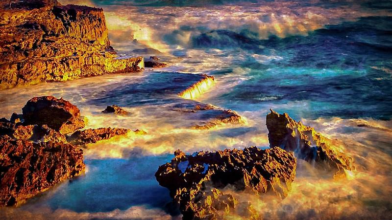 #HW24 Sunrise on Molokai, Hawaii