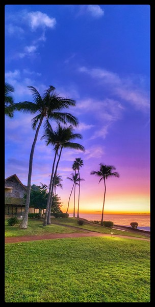 #HW25 Sunset in Paradise