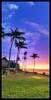 Sunset on Molokai, Hawaii