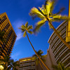 Morning Blue Hour in Waikiki - Honolulu, Hawaii