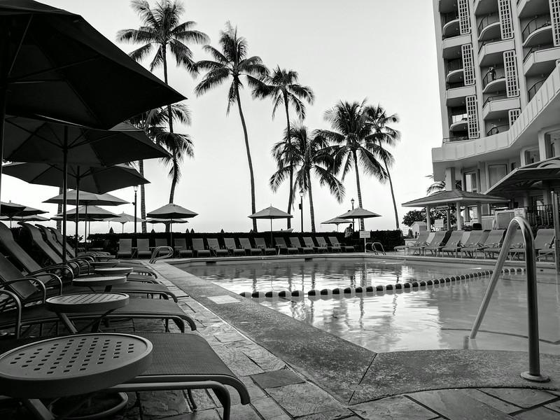Pool, Moana Surfrider - Honolulu, Hawaii
