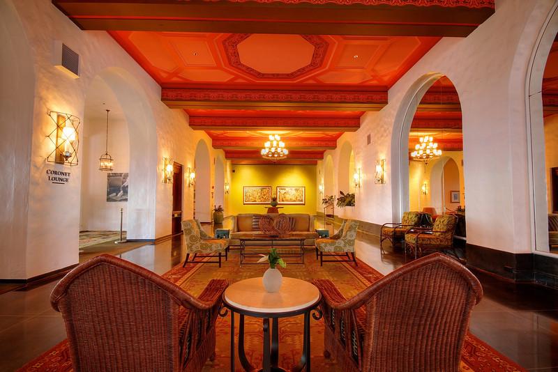 Royal Hawaiian Coronet Lounge - Honolulu, Hawaii