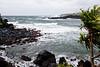 Storm waves near Hana, Maui.