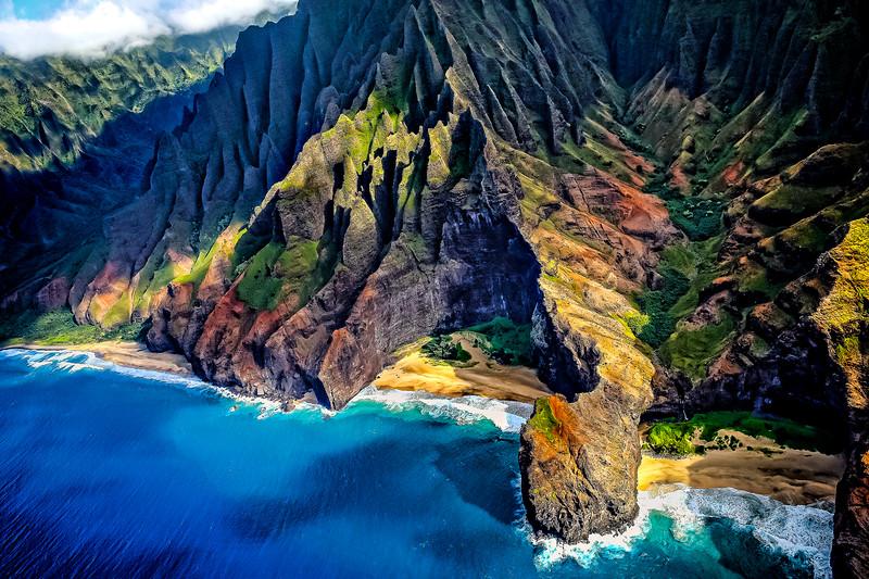 #HW120601 Na' Pali Coast