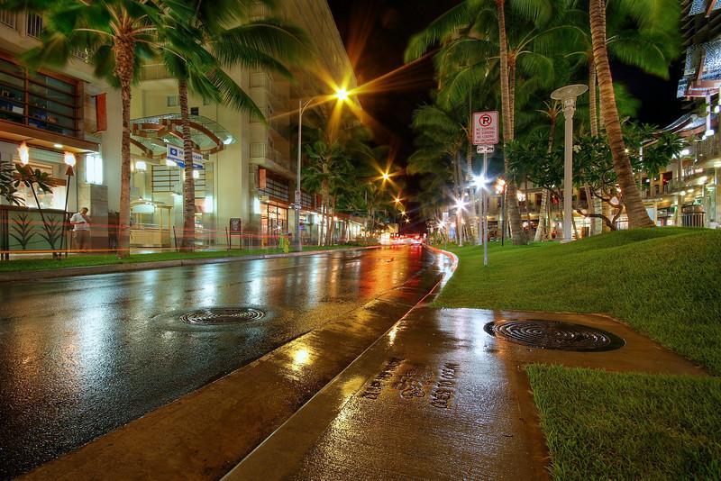 Waikiki Beach Walk - Honolulu, Hawaii
