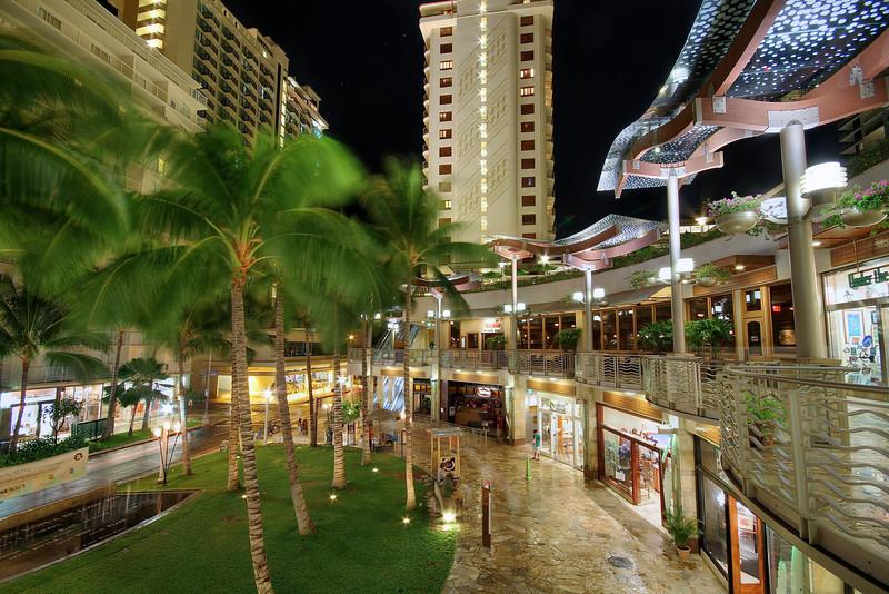 Waikiki Beach Walk Stores - Honolulu, Hawaii