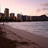 Waikiki Beach Sunrise - Honolulu, Hawaii