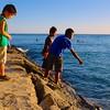 Three Boys, Waikiki Beach - Honolulu, Hawaii