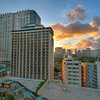 Waikiki Skyline at Sunset - Honolulu, Hawaii