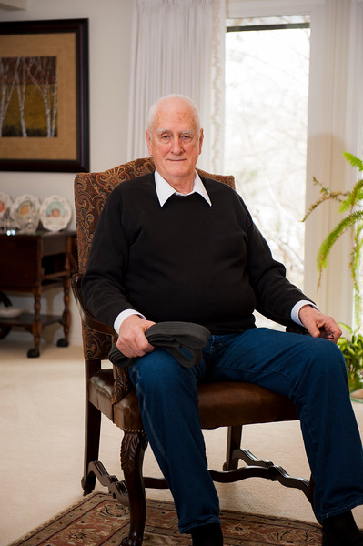 Wayne Wickizer poses for a photo in his Ogden home on February 22, 2016. Wickizer has been practicing karate since 1958 when he was stationed in Japan, and was recently promoted to a 7th degree black belt.