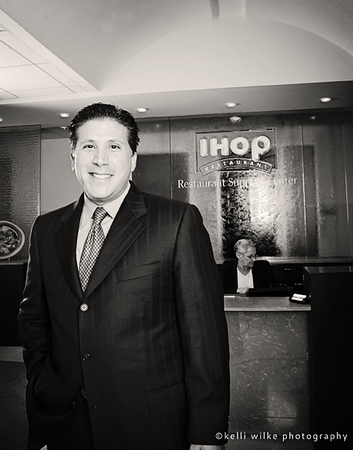 IHOP president for Hitachi Consulting's business to business magazine