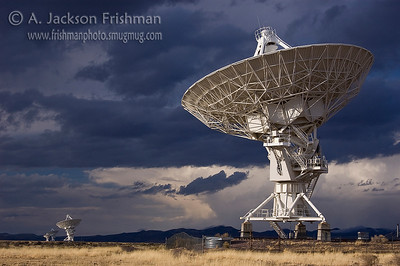 The Very Large Array Radio Telescope, Socorro County, New Mexico, March 2009.