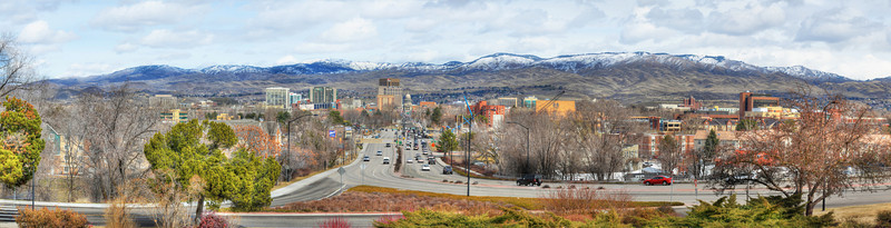 Downtown Boise Idaho - Panorama