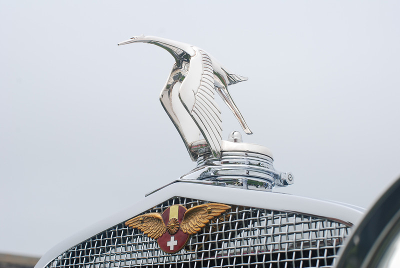 Hispano Suiza hood ornament. Gorgeous!