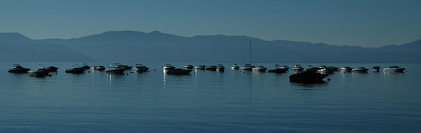 Lake tahoe - just after sunrise.