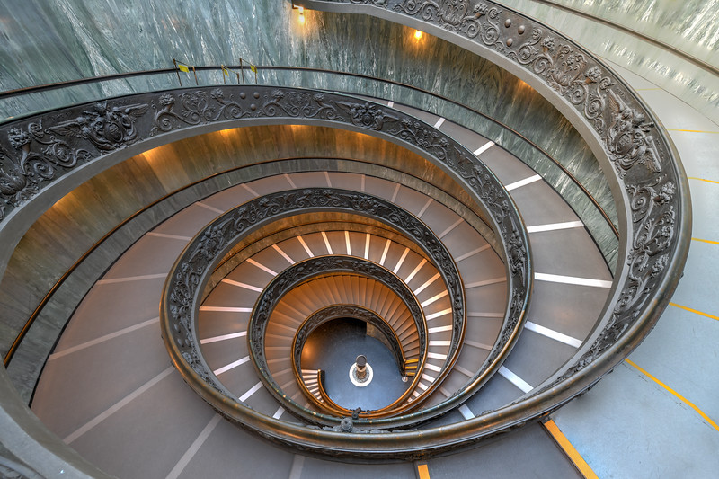 Bramante Staircase - Vatican City