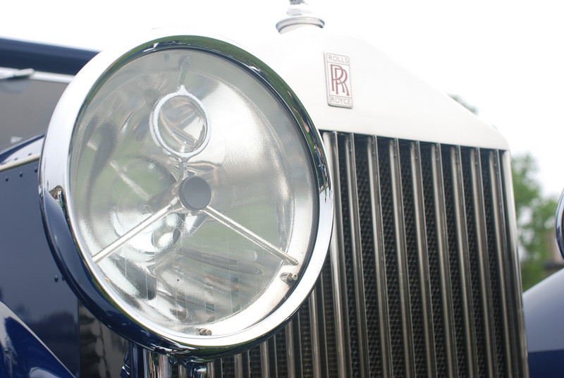 1930 Rolls Royce at the May 2010 Rhode Island Concours at Fort Adams