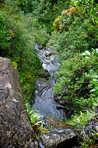 Arieal View of Ka'au Waterfall No. 2 Base Alternate View