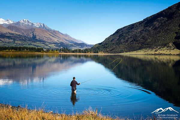 Fisherman - Diamond Lake