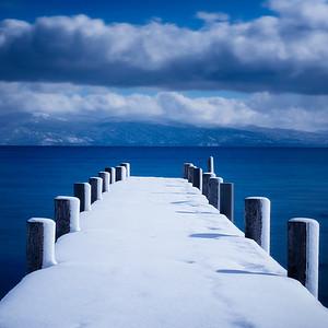 Blue Tahoe Pier