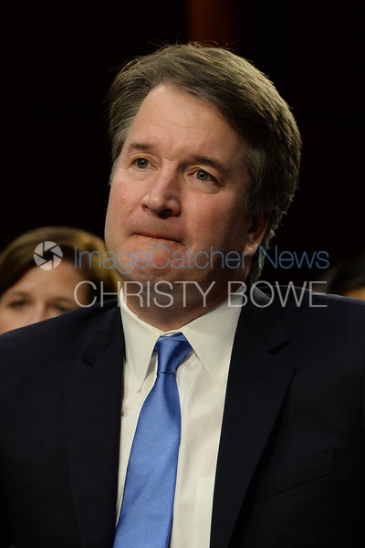 Brett Kavanaugh undergoes the confirmation process by the U.S. Senate for the postion of Supreme Court Justice