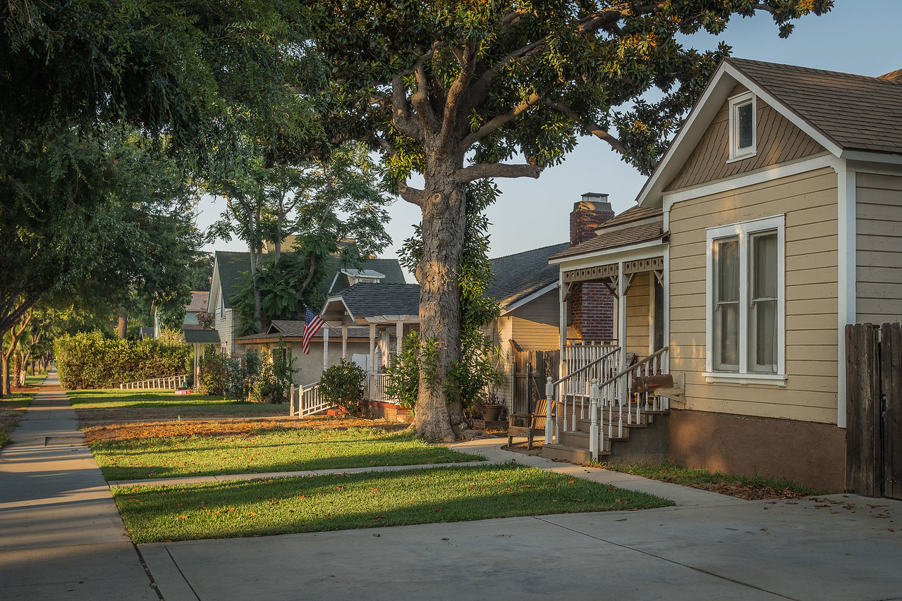 Typical neighborhood in Old Town Chino