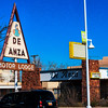 """Motel, Route 66, Albuquerque, NM -- <a href=""""http://rt66central.com/history.html"""" target=""""_blank"""" >Nob Hill History</a>"""