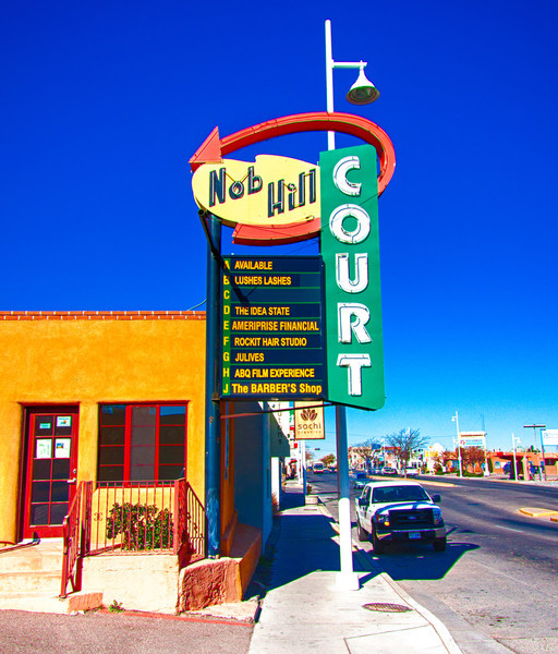 Route 66 on Central Avenue, Albuquerque, NM