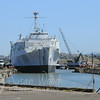 Moving the Thomaston Into Mare Island Naval Shipyard