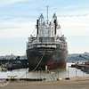 Moving the Solon Turman into Mare Island Naval Shipyard