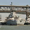 Moving the USS Iowa out of the Suisun Bay Mothball Fleet