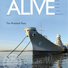 USS Iowa - ALIVE Magazine Cover