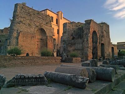 Roman theatre, Benevento, Italy