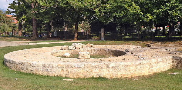 Roman ruins, Tirana, Albania