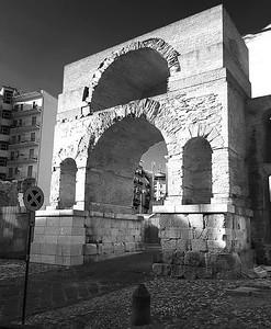 Arch of Sacramento, Benevento, Italy