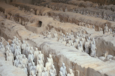 The Terracotta Army, Lintong District, China