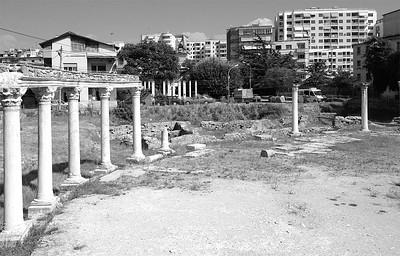 Roman ruins, Durrës, Albania