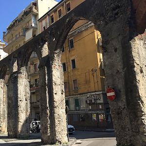 Roman aqueduct, Salerno, Italy