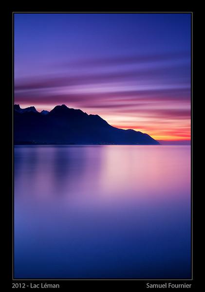 Lac Léman - Vaud - Janvier 2013