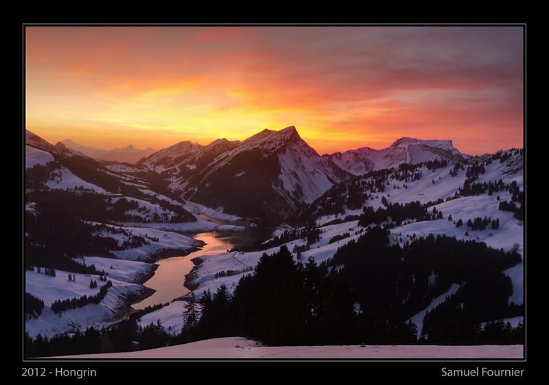 Le Hongrin - Vaud - Décembre 2012