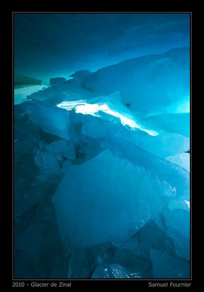 Grotte du Glacier de Zinal - Valais - Décembre 2010