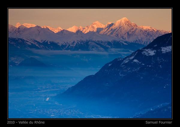 Vallée du Rhône - Valais - Décembre 2010