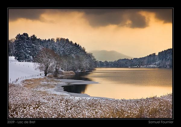Lac de Bret - Vaud - Décembre 2009